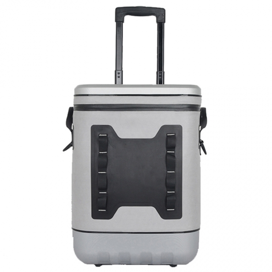 Grey TPU Airtight Trolley Cooler Bag