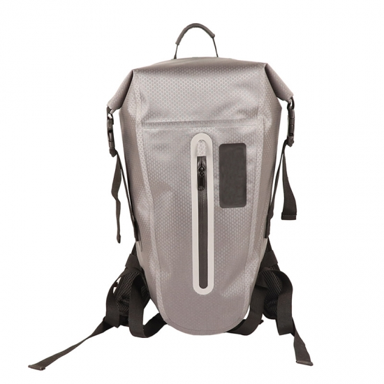 Grey TPU Dry Backpacks